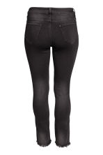 H&M+ Straight Regular Jeans - Black denim - Ladies | H&M CN 3