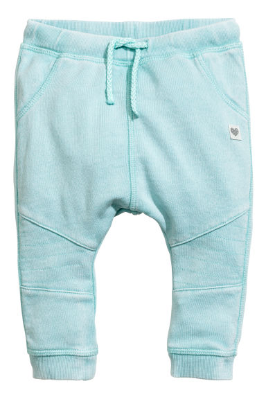 Biker joggers - Turquoise washed out - Kids | H&M CN 1