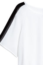 Cropped top - White - Ladies | H&M CN 3