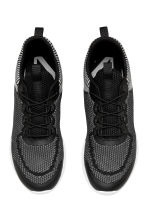 Knitted trainers - Black/Grey - Men | H&M 2