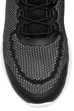 Knitted trainers - Black/Grey - Men | H&M 3