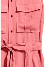 Sleeveless shirt dress - Pink - Ladies | H&M CN 3