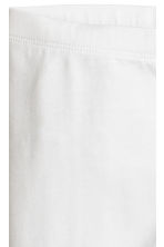 3/4-length leggings - White - Kids | H&M 3