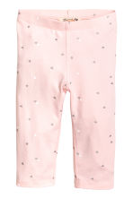 七分內搭褲 - Light pink/Heart - Kids | H&M 2