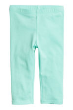 3/4-length leggings - Mint -  | H&M 2