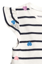 Jersey dress - White/Striped - Kids | H&M 3