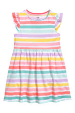 Jersey dress - Multistriped - Kids | H&M CN 2
