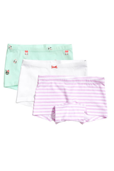 3-pack boxer briefs - Mint green - Kids | H&M CA