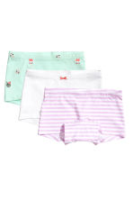 3-pack boxer briefs - Mint green - Kids | H&M 1