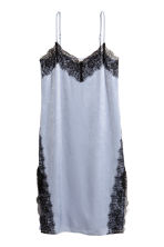 Slip dress - Light blue - Ladies | H&M CA 2
