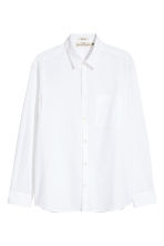 Pima cotton shirt - White - Men | H&M 2