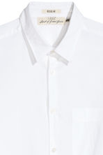 Pima cotton shirt - White - Men | H&M 3