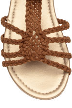 Sandals - Light brown -  | H&M 4