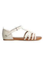 Sandals - Light beige -  | H&M 2