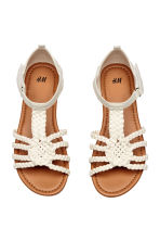 Sandals - Light beige - Kids | H&M 1