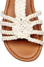 Sandals - Light beige -  | H&M 4