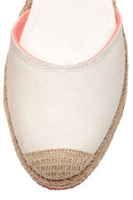 Canvas espadrilles - Natural white - Kids | H&M CN 4