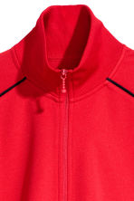 Zipped cardigan - Red - Men | H&M CN 3
