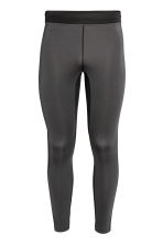 Sports tights - Dark grey - Men | H&M CN 2
