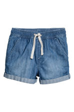 Denim shorts - Denim blue/Spotted - Kids | H&M 2