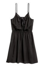 Tie-detail dress - Black - Ladies | H&M 2