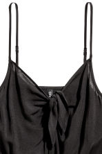 Tie-detail dress - Black - Ladies | H&M 3