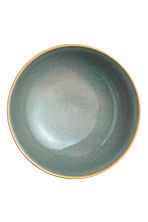 Stoneware salad bowl - Dusky green - Home All | H&M CN 3