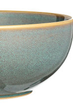 Stoneware salad bowl - Dusky green - Home All | H&M CN 4