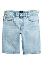 Denim shorts - Light denim blue - Men | H&M CN 2