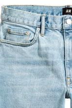 Denim shorts - Light denim blue - Men | H&M CN 4