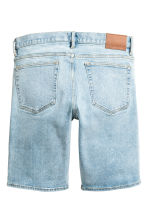 Denim shorts - Light denim blue - Men | H&M CN 3