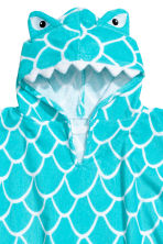 Hooded towel - Turquoise/Shark - Home All | H&M GB 3