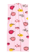 Patterned bath towel - Light pink/Fish - Home All | H&M CN 1