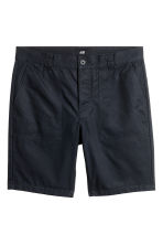 Short cotton shorts - Black - Men | H&M 2