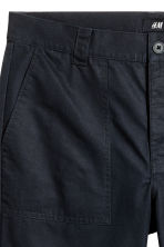 Short cotton shorts - Black - Men | H&M 4