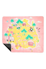 Picnic blanket - Light pink/Flamingo - Home All | H&M CN 3