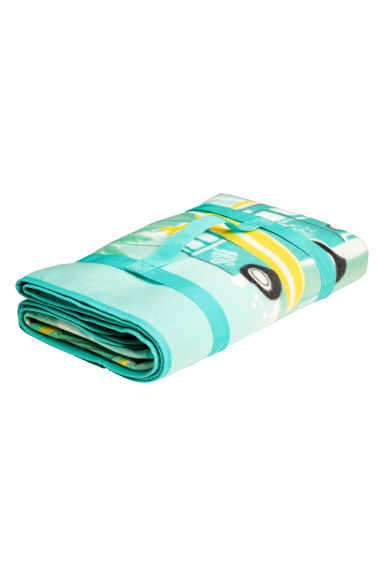 Picnic blanket - Mint/Flamingo - Home All | H&M CN 1