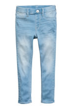 Superstretch Satin Leggings - Light denim blue -  | H&M 2