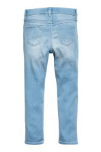 Superstretch Satin Leggings - Light denim blue - Kids | H&M 3