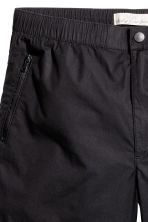 Knee-length poplin shorts - Black - Men | H&M CN 3