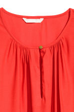 Long-sleeved blouse - Red - Ladies | H&M 3