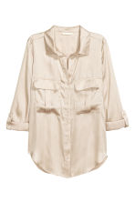 Utility shirt - Light beige -  | H&M CN 2