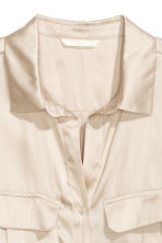 Utility shirt - Light beige -  | H&M CN 3