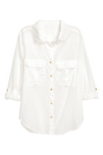 Utility shirt - White - Ladies | H&M 2