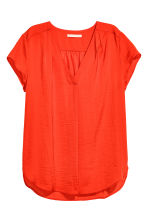 V-neck blouse - Red - Ladies | H&M CN 2