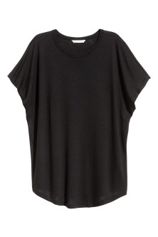 Top with cap sleeves