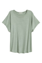 蓋袖上衣 - Dusky green - Ladies | H&M 2