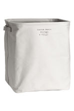 Storage basket - Light grey - Home All | H&M CN 1
