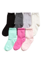 7-pack socks - Light pink - Kids | H&M CN 1