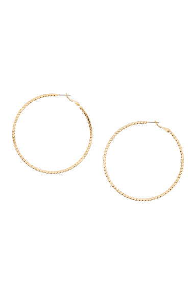 Large earrings - Gold - Ladies | H&M CN